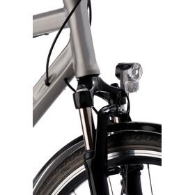 Axa Pico 30 Cykellygter 'til navdynamo med holder og kabel'